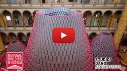 National Building Museum: Hive Construction Time-Lapse