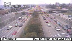 DOT: Washington State: I-5 at Roanoke Street