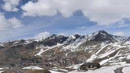 Val Thorens Mountain Peaks