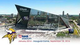 U.S. Bank Stadium Time-Lapse