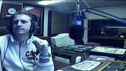 Cross Rhythms Radio studio webcam