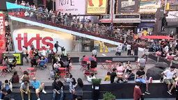 Times Square Street Cam, New York