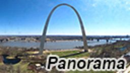 St. Louis Arch Panorama