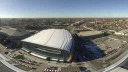 Milwaukee Bucks Fiserv Forum Stadium