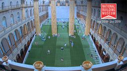 National Building Museum: Lawn Construction Time-Lapse