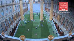 National Building Museum: Lawn Construction Time-Lapse