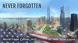 World Trade Center 20 Year Time-Lapse
