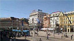 Zagreb, Ban Jelacic -  Main square