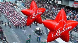 Thanksgiving Parade - Aerial View