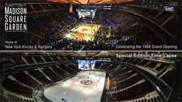 Madison Square Garden Special Edition Transformation Time-Lapse