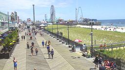 Seaside Heights Cam - North View