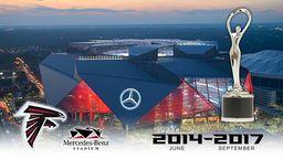 Official Altanta Falcons Mercedes-Benz Construction Time-Lapse