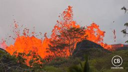 Kilauea Lava Flow Activity