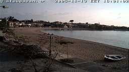 Stoupa, Mani, Greece Beach Cam