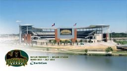 Baylor University McLane Stadium Time-Lapse