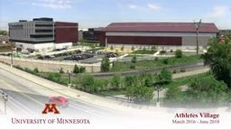 University of Minnesota Athletes Village Construction Time-Lapse
