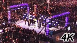 New Years 2017 Times Square in 4K