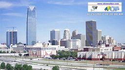 Oklahoma City Central Skyline