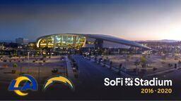 LA Rams SoFi Stadium 4K Time-Lapse
