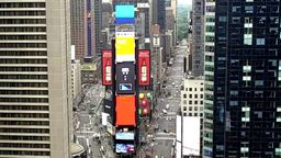 Times Square North View, New York