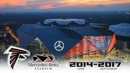 Official Altanta Falcons Mercedes-Benz Construction Time-Lapse