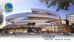 Chase Center Golden State Warriors 4K Construction Time-Lapse