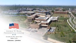 George W. Bush Presidential Center Time-Lapse