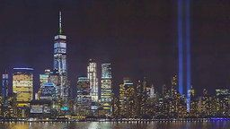 World Trade Center Tribute in Light Panorama