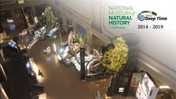Smithsonian's National Museum of Natural History Fossil Hall Time-Lapse