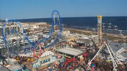 Ocean City New Jersey Aerial Skyline Cam