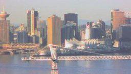 Vancouver Alaska Cruise Ship Cam at Canada Place