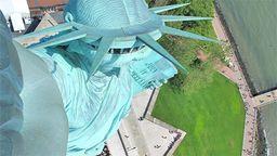 Statue of Liberty CrownCam