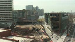 Cornell Tech Campus Construction, New York
