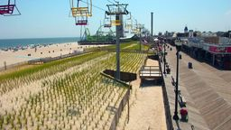 Seaside Heights Cam - Amusement Park View