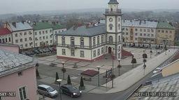 Brzozow - Market place