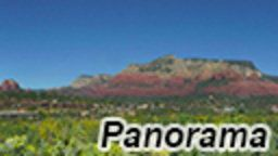 Sedona Seven Arches Panorama