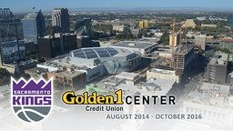 Sacramento Kings Golden 1 Center Construction Time-Lapse