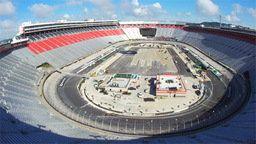Bristol Speedway Construction Cam