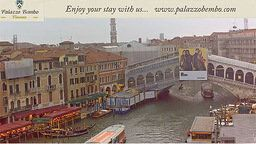 Rialto Bridge in Live Streaming