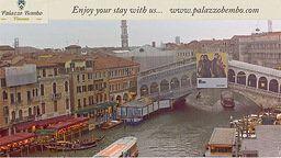 Rialto Bridge in Live Streaming
