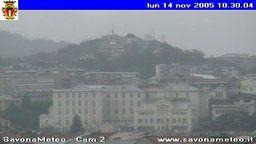 SAVONAMETEO live webcam