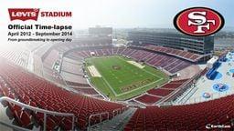 49ers Levi's Stadium Time-lapse