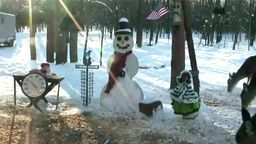 EarthCam: Michigan Snowman Cam