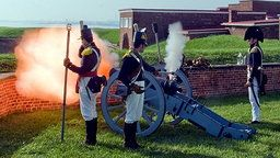 Fort McHenry Cam - Rampart View