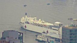 EarthCam USNS Comfort Docking