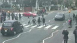 Beatles Abbey Road Crossing