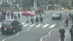 Beatles Abbey Road Crossing, England