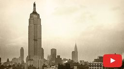 Empire State Building 1931 Time-lapse