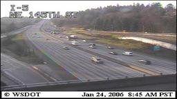 DOT: Washington State: I-5 at NE 145th Street