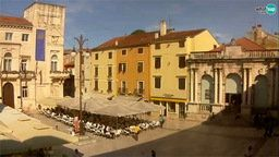 Zadar - People's Square, City Lodge